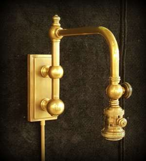 Antique Brass Sconce