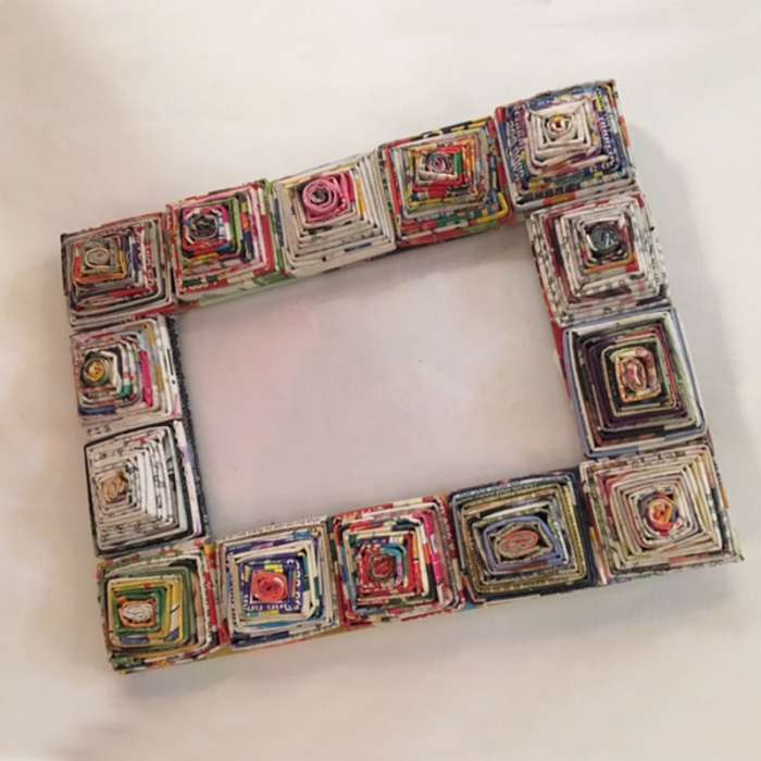 Magazine Picture Frame